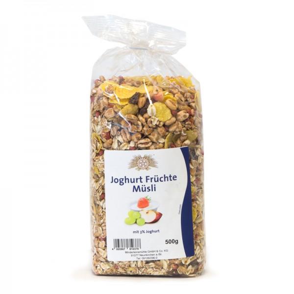 Joghurt Früchte Müsli