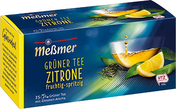 Grüner Tee Zitrone