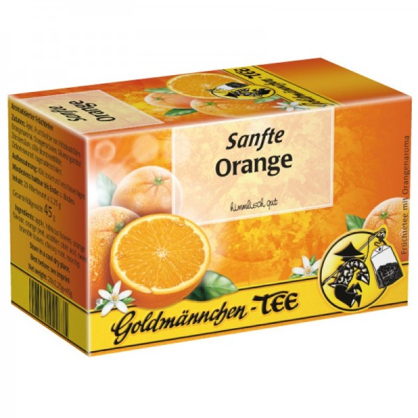 Sanfte Orange