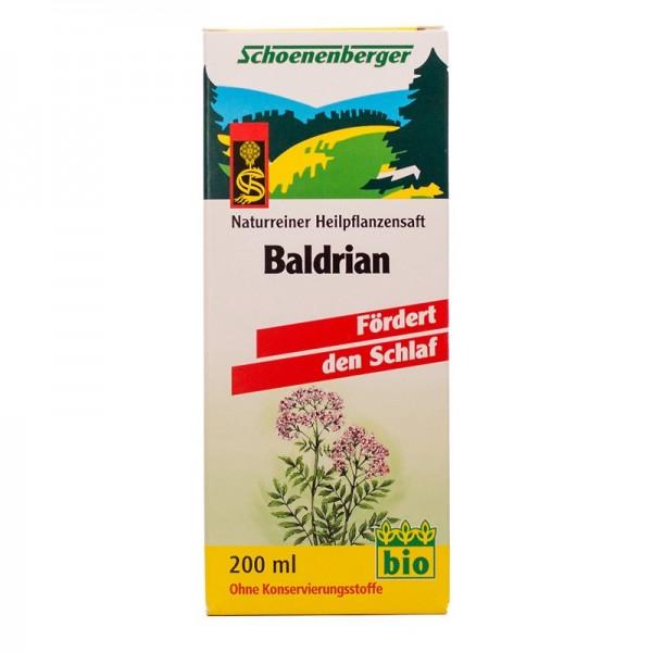 Naturreiner Heilpflanzensaft Baldrian