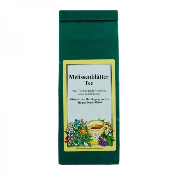 Melissenblätter-Tee