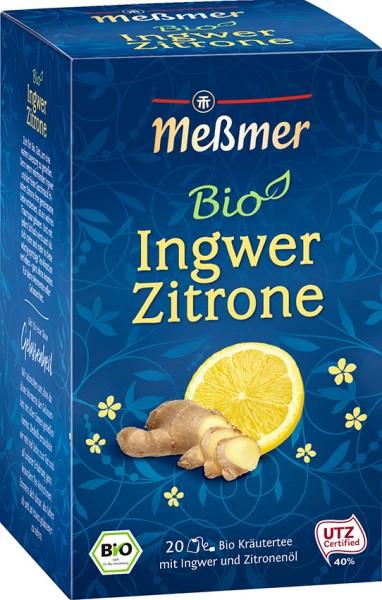 BIO Kräutertee Ingwer-Zitrone 20 Btl.