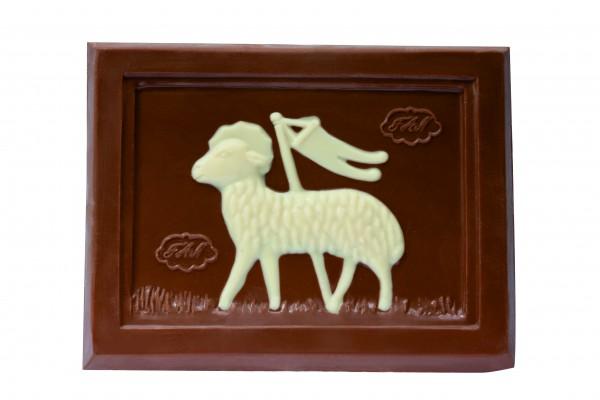 Glückswinkel Schokolade Lammtafel Vollmilch 200g