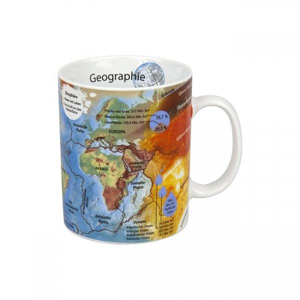 Geographie - Wissensbecher