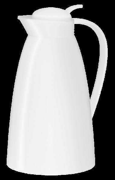 alfi Isolierkanne Eco Kunststoff weiß 1,0 l