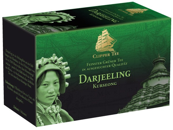 Grüner Tee Darjeeling Kurseong