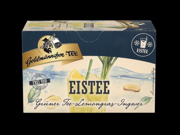 Eistee Grüner Tee Lemongras-Ingwer