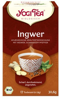 Yogi Tea® Ingwer