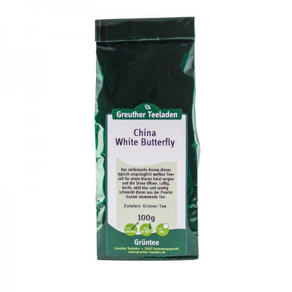China White Butterfly