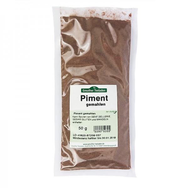 Piment gemahlen