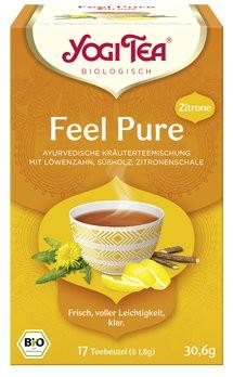 Yogi Tea® Feel pur Zitrone