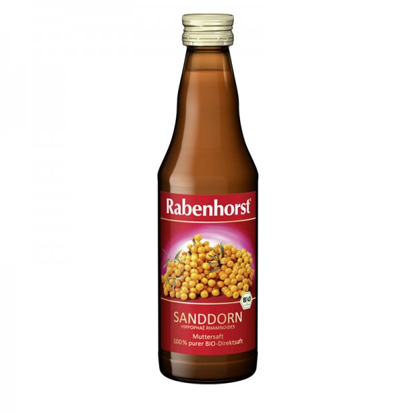 Sanddorn Muttersaft BIO Rabenhorst, 330 ml