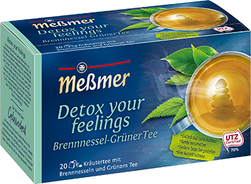 detox your feelings - Brennnessel - Grüner Tee