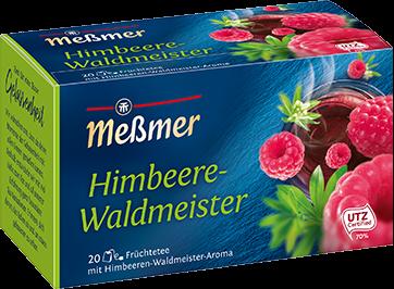 Früchtetee Himbeere-Waldmeister