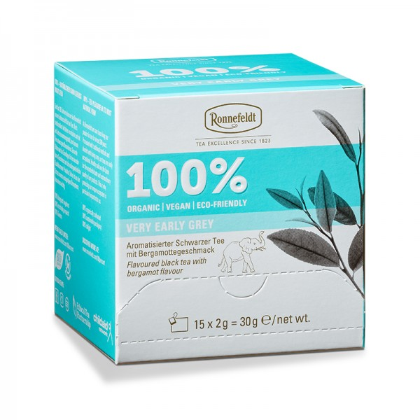 100% Very Early Grey, 15 Btl. a 2g