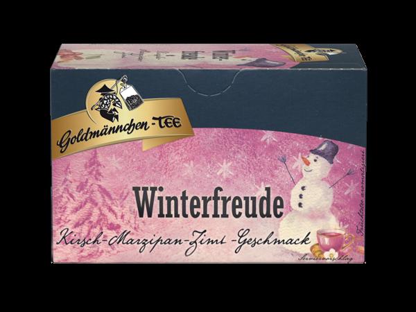 Winterfreude Früchtetee Kirsche-Marzipan-Zimt
