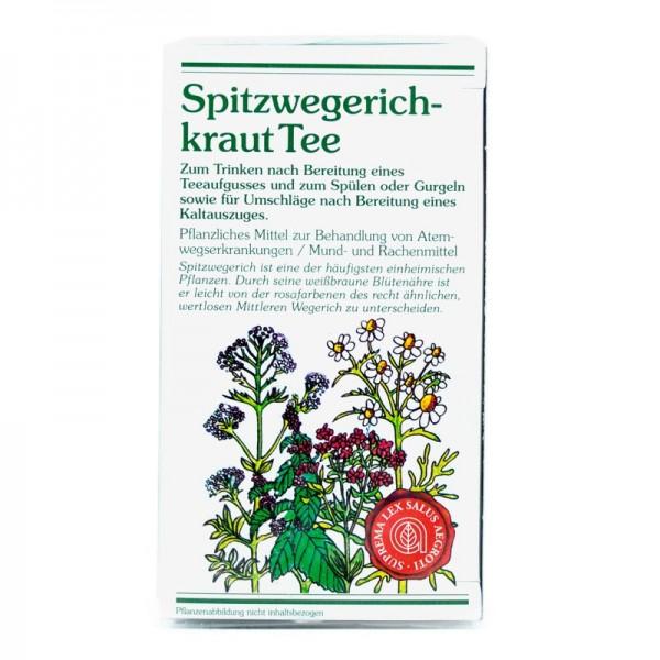 Spitzwegerichkraut Tee