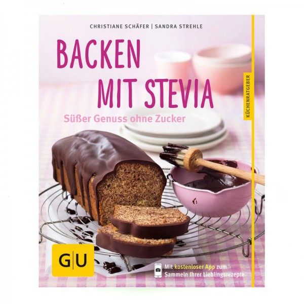 backen mit stevia buch von gu verlag greuther teeladen. Black Bedroom Furniture Sets. Home Design Ideas