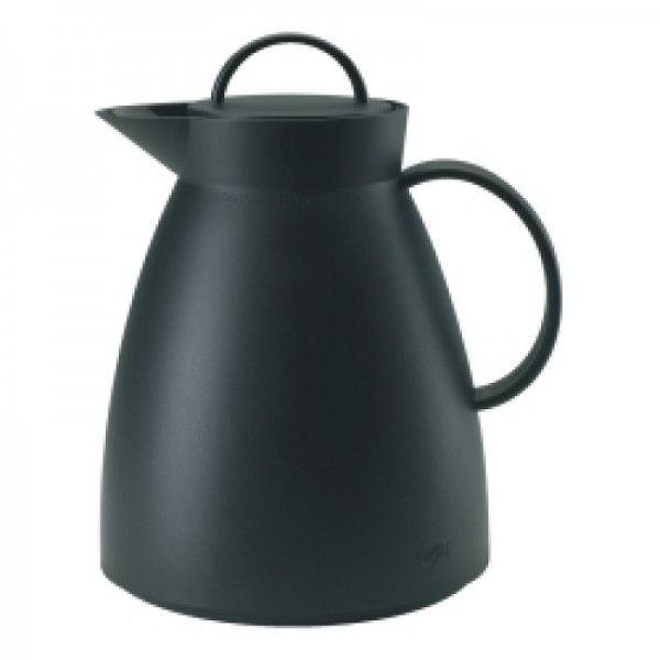 alfi Isolierkanne Dan Kunststoff, schwarz 1,0 l