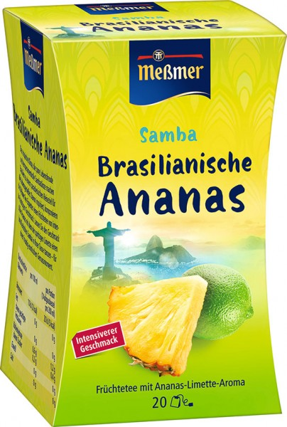 Samba Brasilianische Ananas, 20 Beutel