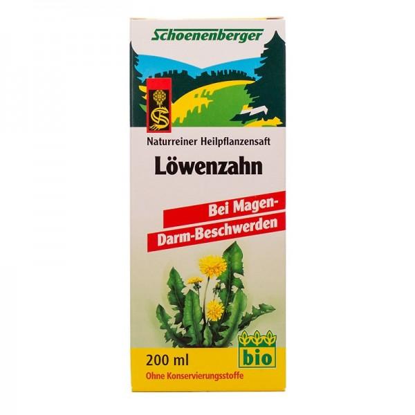 Naturreiner Heilpflanzensaft Löwenzahn